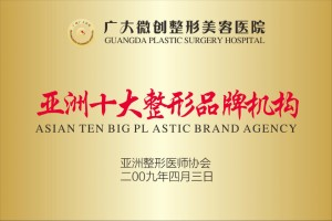 亚洲十大整形品牌机构